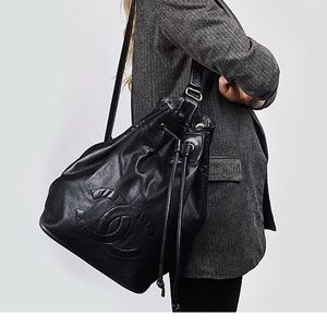 """Chanel soft leather """"backpack"""""""